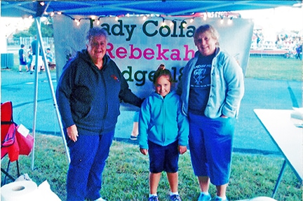 Independent order of Odd Fellows and Rebekahs, Lady Colfax, Odd Fellows events, community events, Leesport Odd Fellows