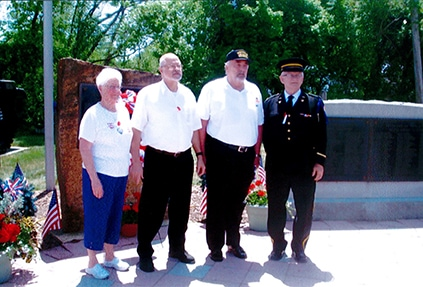 Independent Order of Odd Fellows and Rebekahs, Odd Fellows events, Leesport Odd Fellows, odd fellows, Memorial Day, Memorial Day 2016, Member of the Patriachs Militant Department, militia, ceremony, honoring the fallen